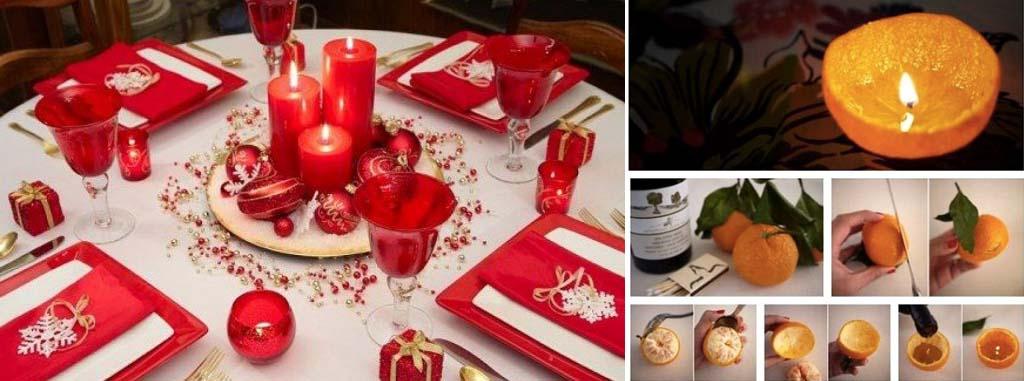 Semplici idee per decorare la tua casa e la tavola il giorno di Natale